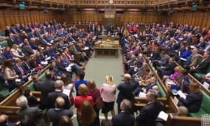 The chamber in the House of Commons