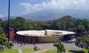 The entrance to the Joaquin Antonio Uribe botanical gardens, Medellín