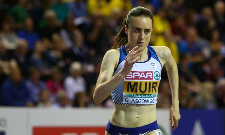 Laura Muir won the 1500m in last year's European Indoor Championships in Glasgow and is aiming for a world record in the 1,000m as the Indoor Grand Prix visits the city.