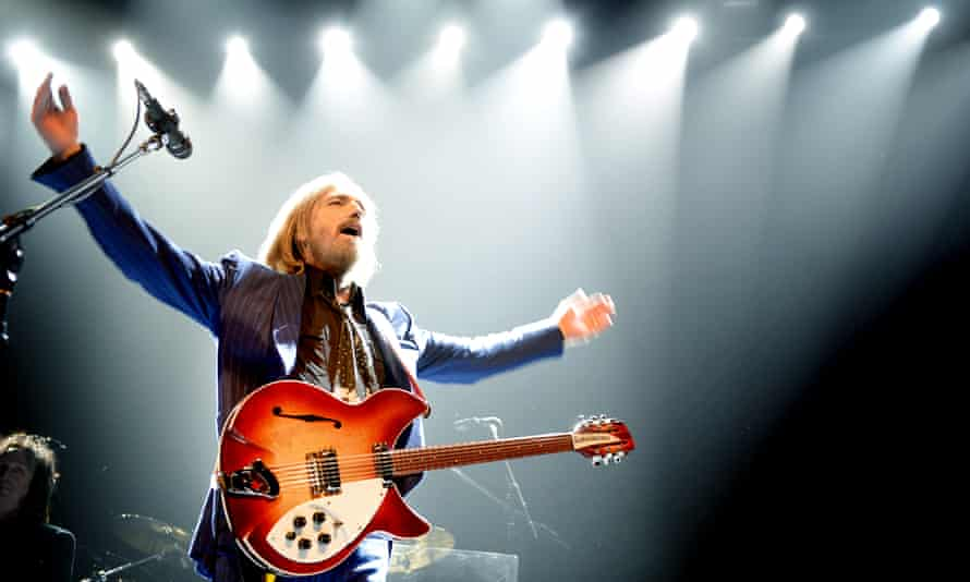 Tom Petty and the Heartbreakers performing at the Globe Arena, Stockholm, Sweden, in 2012.