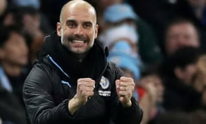 Pep Guardiola said: 'We won four titles in 2019, so it was an incredible year for Manchester City.'