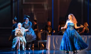 the Fairy (Caroline Wettergreen) and Cinderella (Alix Le Saux) in Cendrillon at Glyndebourne