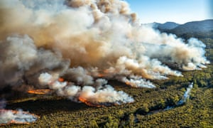 Bushfires are burning in the south of Tasmania as the state experiences 'unprecedented' heatwave conditions. Extreme heat is also forecast in Melbourne and across Victoria.