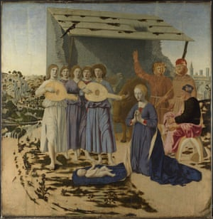 The Nativity (1470-5) by Piero della Francesca.