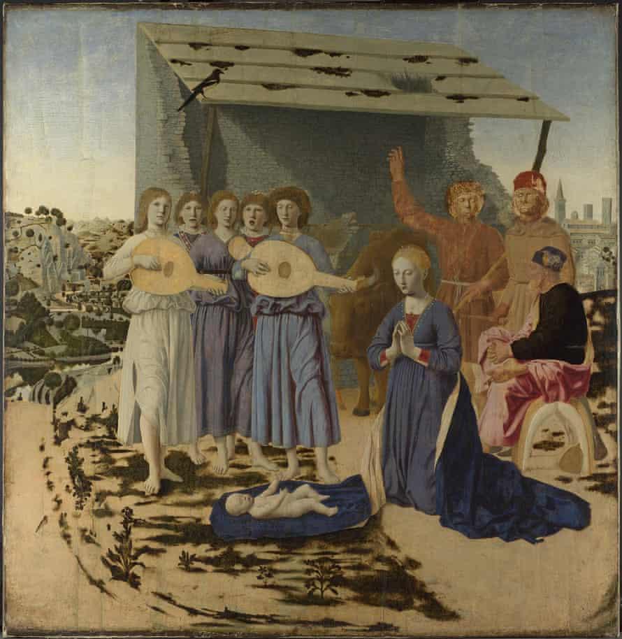The Nativity (1470-5) by Piero della Francesca.
