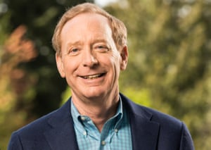 Microsoft's president and chief legal officer, Brad Smith