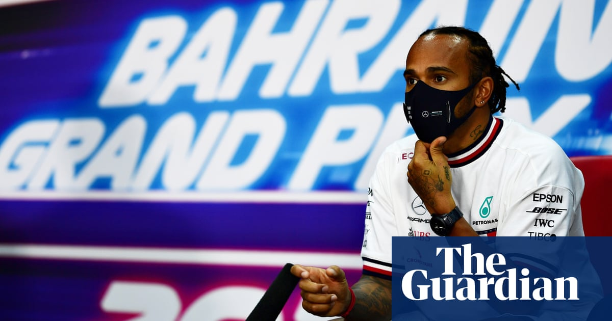 F1 has massive problem to address over human rights, says Lewis Hamilton