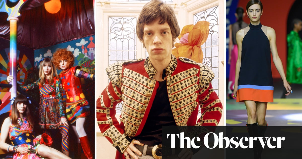 Miniskirts, Stones, pop art: why the swinging 60s will never go out of fashion