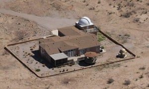 Rick Beno's house, and adjoining home observatories, are flanked by the towering Chiricahua mountains – highest point 9,763ft – in south-eastern Arizona.