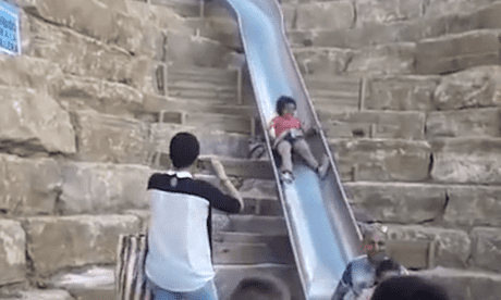 Steep 38-metre slide closes in Spain day after opening following injuries
