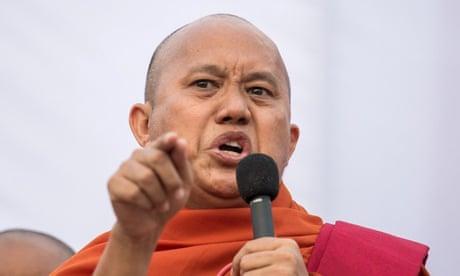 Myanmar police hunt 'Buddhist bin Laden' over Suu Kyi comments
