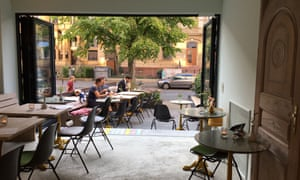 The new bistro Vif in Westend