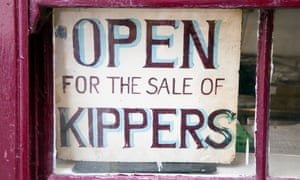 Fortune's kipper shop.