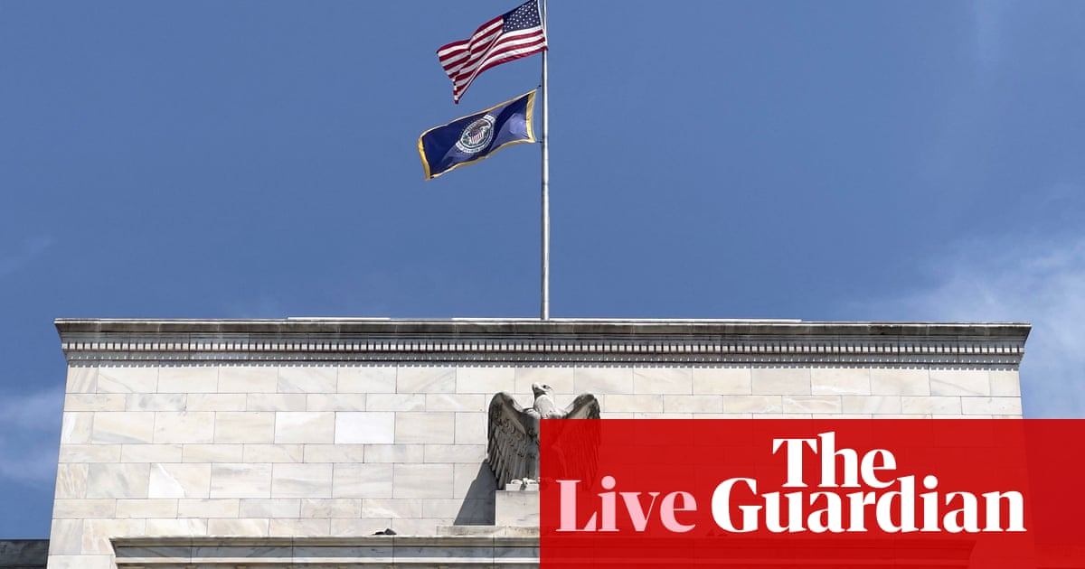Shares hit by Fed taper warning and virus fears; oil prices extend losing streak – business live