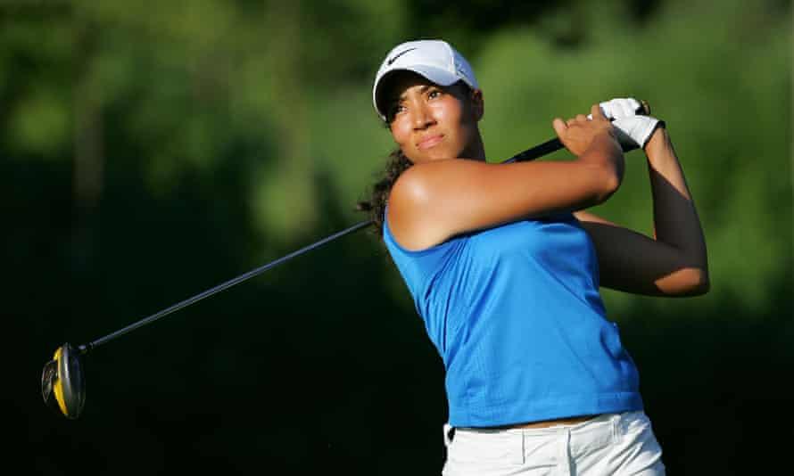 Cheyenne Woods playing golf in 2009