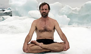 Wim Hof believes breathing and extreme cold can cure many ills.