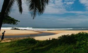 Beach near Monrovia.