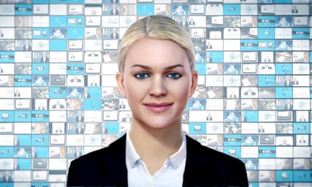 Designed by technology firm IPsoft, AI worker 'Amelia' helps residents of Enfield, north London with issues such as planning permission applications.