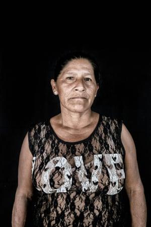 Stella da Silva, 46, a Macuxi woman from Normandia