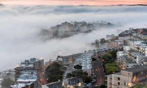 The Poison Artist is set in a 'fog-bound' version of San Francisco