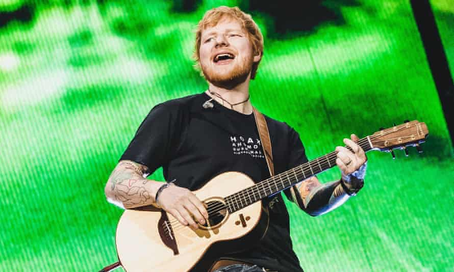 Ed Sheeran on stage in Austria. The singer has backed a campaign urging fans to reject the 'emotional blackmail' of websites selling gig tickets at inflated prices.