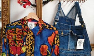 blouse and dungareees, mon pere porto