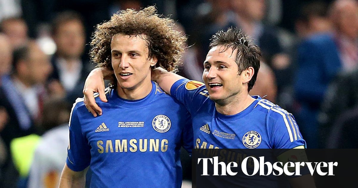 Frank Lampard at pains not to rouse David Luiz's lust for Chelsea revenge