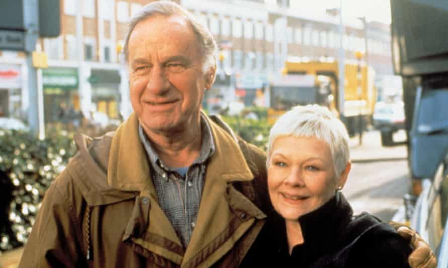 Geoffrey Palmer with Judi Dench in As Time Goes By, which ran from 1992 until 2005.