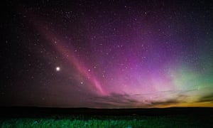 Strong thermal emission velocity enhancement – known as 'Steve'.