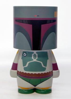 Star Wars Boba Fett Look-A-Lite LED Lit Character Mood Light