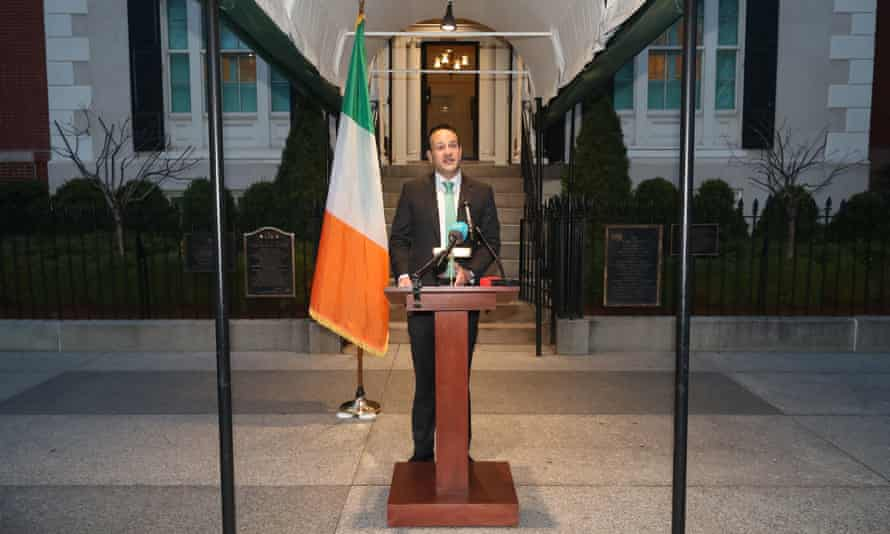 Taoiseach Leo Varadkar in Washington DC announces that all schools, colleges and childcare facilities in Ireland will close until 29 March.