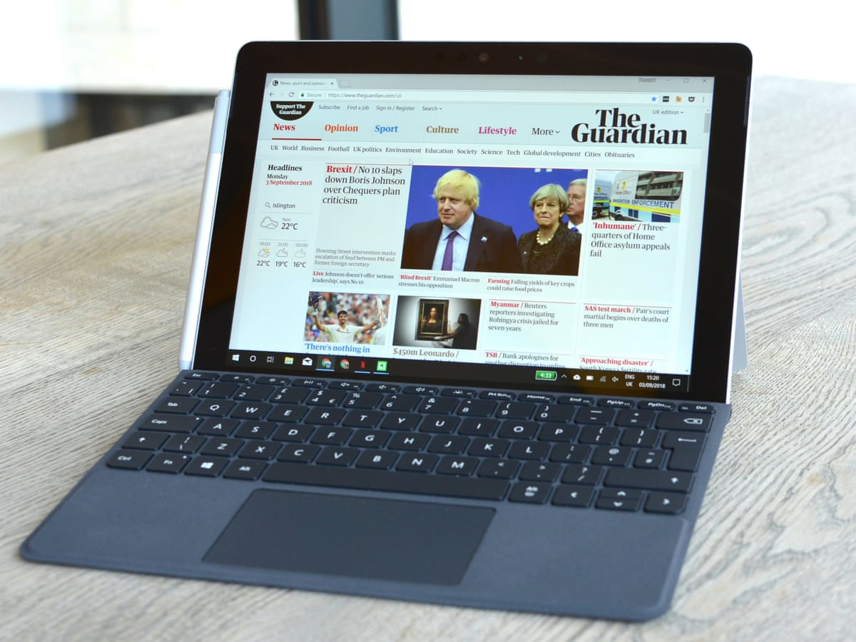 Microsoft Surface Go review tablet that's better for work than ...