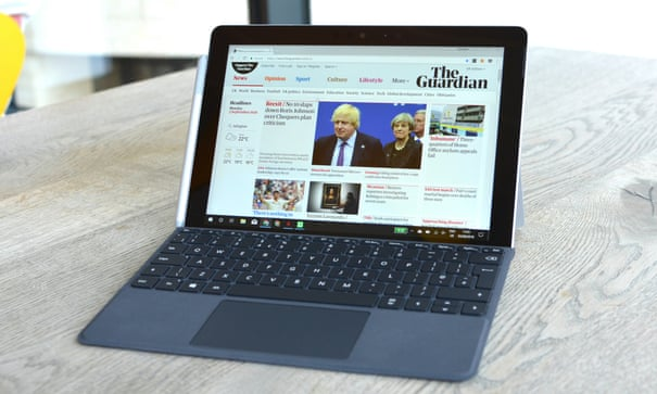 Microsoft Surface Go review: tablet that's better for work than play