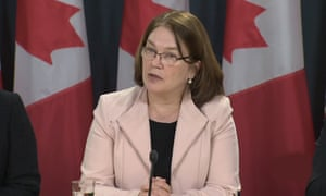 Jane Philpott: 'The death toll is worse than any other infectious epidemic in Canada.'