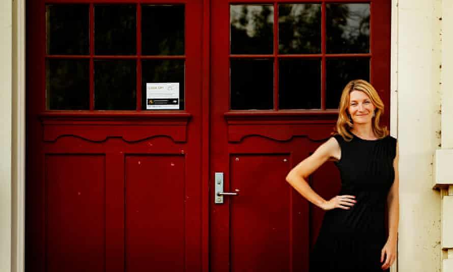 Pippa Grange in Melbourne, Australia, in 2010.