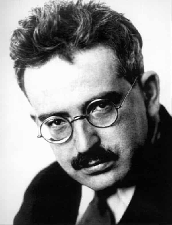 German philosopher and critic Walter Benjamin