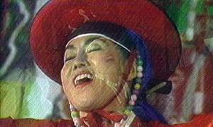 Nam June Paik's Bye Bye Kipling, 1986.