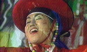 Founding father … still from Bye Bye Kipling by Nam June Paik.