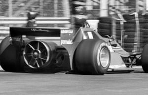 In 1978, Lauda drove a controversial Brabham-Alfa Romeo BT46B, known as the 'Fan Car', which featured a cooling fan at therear. The fan also improved roadholding by creating a partial vacuum under the car.