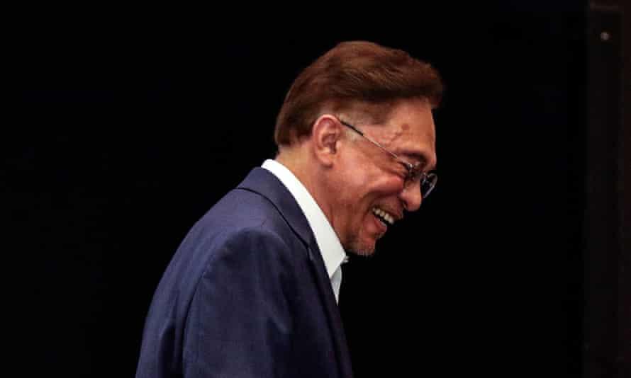Malaysian opposition leader Anwar Ibrahim