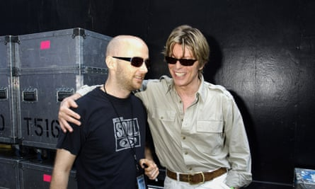 Moby with David Bowie