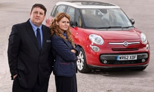 Car Share, starring Peter Kay and Sian Gibson