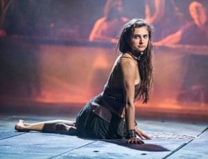 Dignity and poise … Isabella Nefar as Salomé.
