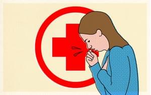 Seek medical help.