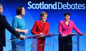 4568f5805 STV broadcast a live party leaders' debate before the 2016 Holyrood  elections.