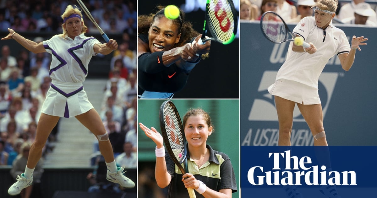 The greatest female tennis player of the last 50 years: the fans verdict
