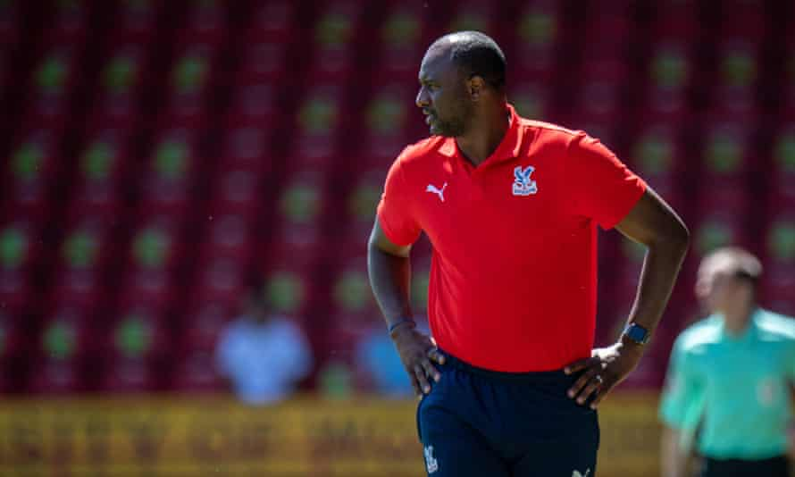 Patrick Vieira saw his team win at Walsall.