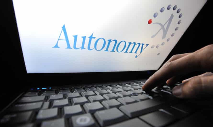 autonomy logo on a laptop