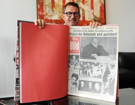 Then Bild editor Kai Diekmann in his office in Berlin in 2012.