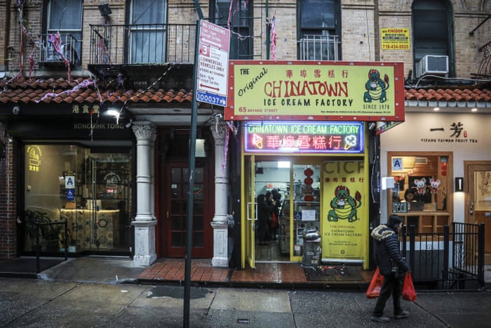 People Are Scared New York City S Chinatown Takes Hit Over Coronavirus Fears New York The Guardian